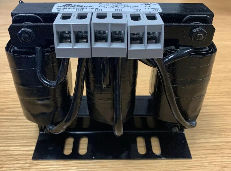 ACME Transformer AC Line Reactor ALRB008TBC 3PH 60HZ 600V