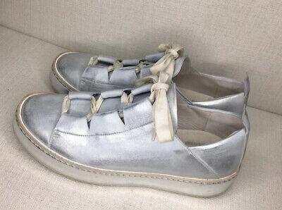 HENRY BEGUELIN - Fashion Sneaker Lacci Cervo - Metal  - Sz 39 / US 9 / UK 6