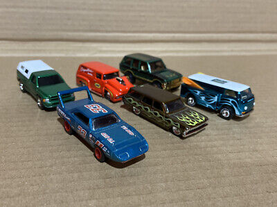 Lot Of 6 Hot Wheels Real Riders Super Treasure Hunt VW Bug, Etc. 1/64