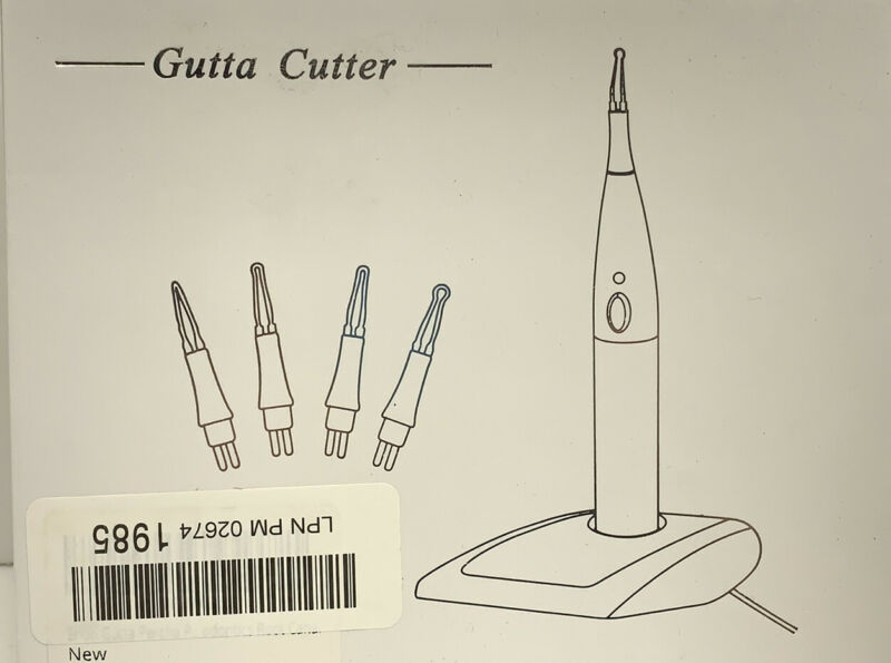4Tips Dental Gutta Percha Tooth gum Cutter Endo Gutta Cutter gutta percha