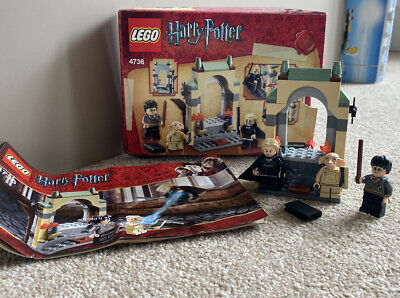 Lego Harry Potter 4736 FREEING DOBBY 100% Complete Boxed