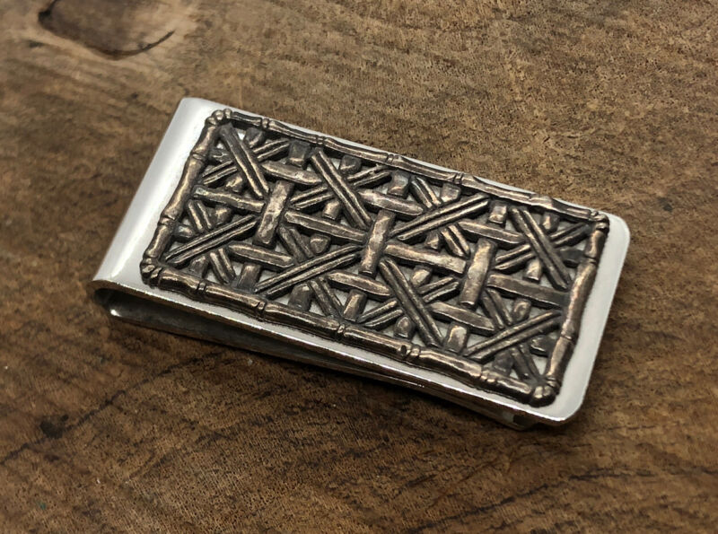 John Hardy Signed Sterling silver money clip used