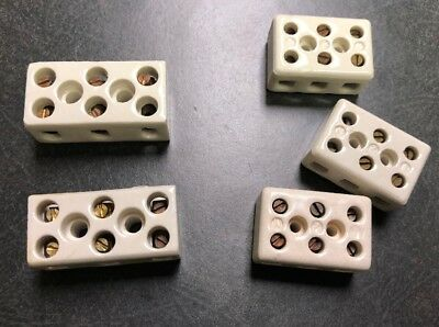 Ceramic Junction Block Barrier Strip- Diffusion Pump And High Temp Application