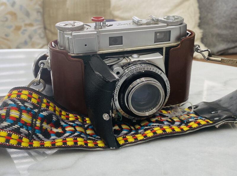 Estate Excellent Kodak Retina IIIc Small C Xenon 50mm Film Camera Tested w/case