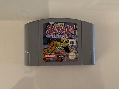 N64 Nintendo 64 Scooby Doo Classic Creep Capers Cartoon Network (PAL) Cartridge