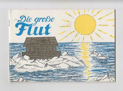 Die große Flut Noah Arche Bilder Verse Geschichten aus der Bibel für Kinder 1970 (Bibel-verse Für Kinder)