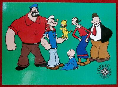 """POPEYE - Individual Card #76 - Hanna-Barbera """"THE ALL-NEW POPEYE HOUR"""""""