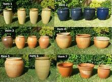Terracotta Pots, various styles,sizes and prices Hurstville Grove Kogarah Area Preview
