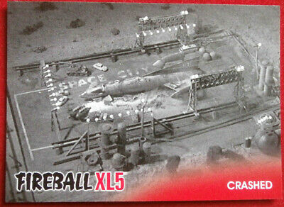 FIREBALL XL5 - Base Card #34 - CRASHED - Gerry Anderson - 2017