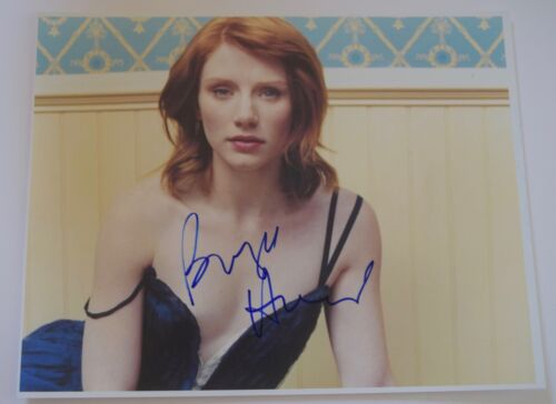 Bryce Dallas Howard Signed Autographed 11x14 Photo JURASSIC WORLD COA VD