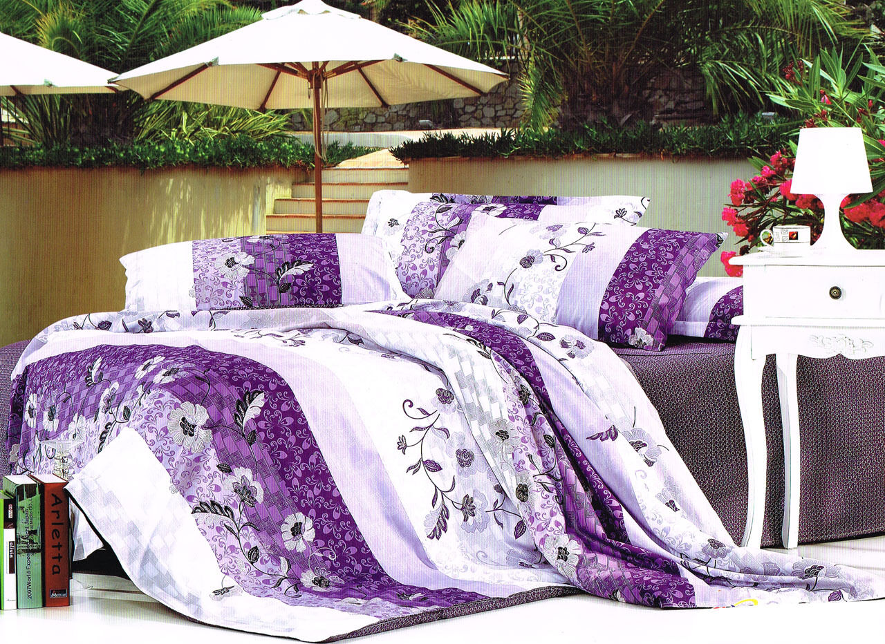 Single Double Queen King Size Bed Doona Quilt Duvet Cover