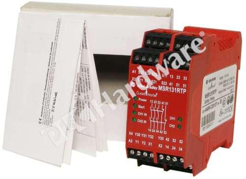 New Allen Bradley 440R-C23137 /B Single Function Safety Relay