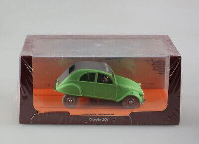 Miniature Tintin L'affaire Tournesol, Citroën 2 CV 1956  1/43
