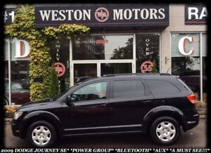2009 Dodge Journey SE*POWER GROUP*BLUETOOTH*AUX*A MUST SEE!!*