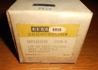 Penn Humidistat Counterline W43a1