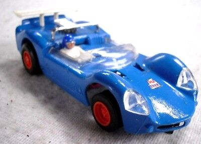 Scalextric Slot Car Racing 1-32 Scale: Rare Classic Blue Javelin You-Steer YS103