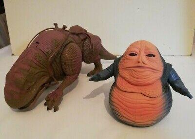 Star Wars *Jabba the Hut* & *Dewback* von Kenner
