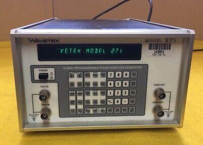 Wavetek Model 271 Pulse Generator
