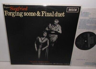 SXL 6142 Wagner Siegfried Forging Scene & Final Duet Nilssohn Windgassen N/B
