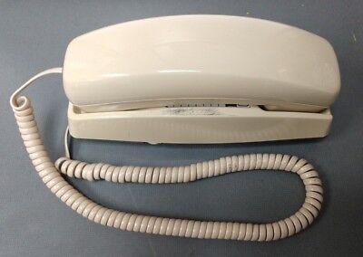 Cortelco Itt 330044-mba-20m Cream Single Line Analog Corded Table Desk Phone
