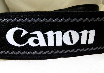 Canon EOS Camera Digital Shoulder Neck Strap Original GenuineBlack 60D 70D T2i