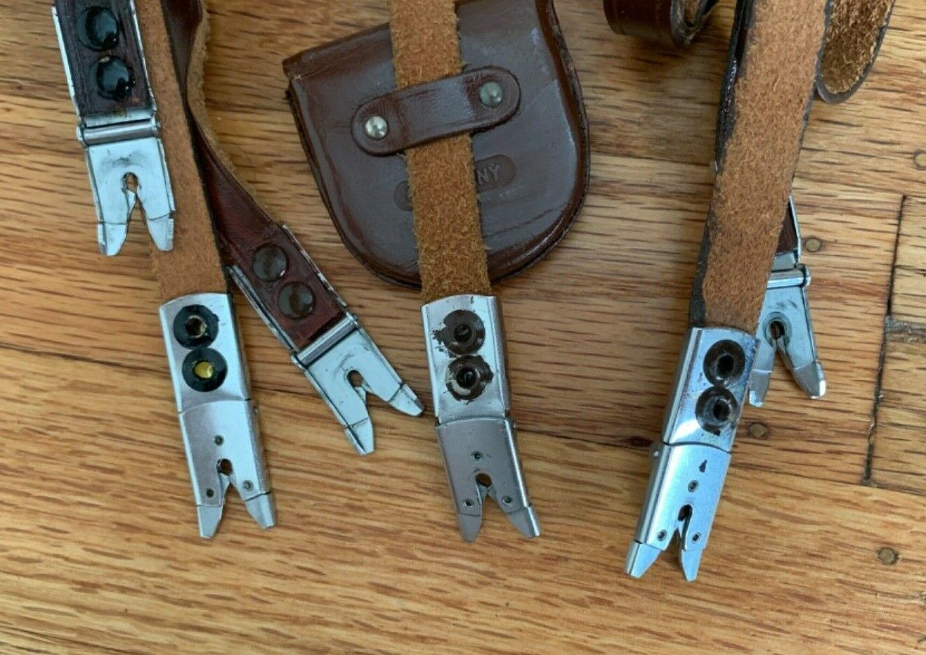 Scissor - Alligator Clips 6 With Straps And 1 Without A Strap 7 Clips Total - $29.95