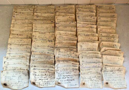 Obsolete Pharmacy 1914 Handwritten Prescription Rx Lot Ephemera Apothecary Paper