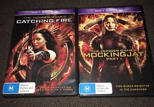 Hunger games dvds Aberglasslyn Maitland Area Preview