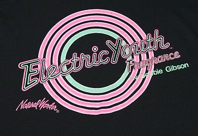 S * vtg 80s ELECTRIC YOUTH Perfume DEBBIE GIBSON * tour 56.143