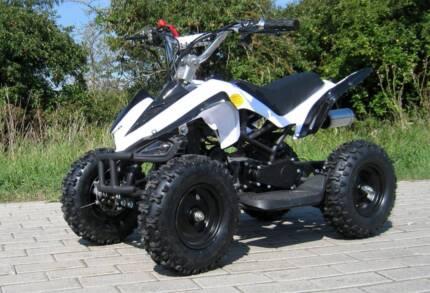 50cc KIDS MINI QUAD BIKE ..  JUNIOR ATV WHITE