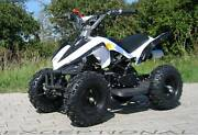50cc KIDS MINI QUAD BIKE ..  JUNIOR ATV WHITE Chandler Brisbane South East Preview