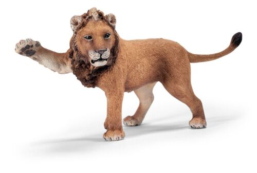 LION WITH PAW UP by Schleich/toy/14374/RETIRED
