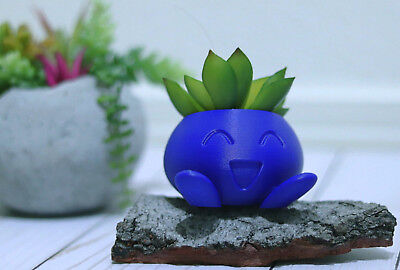 Oddish Planter, Pokemon Planter, Succulent Planter, Air Plan