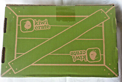 KIWI CRATE My Body and Me -- Science Craft Kit for Kids Ages 5-8 NEW SEALED