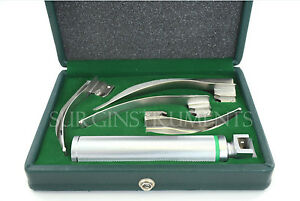 Fiberoptic-Laryngoscope-Set-EMT-Anesthesia-Intubation-A-GRADE-NOT-PLASTIC