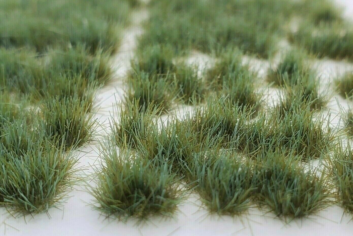 Self Adhesive Static Grass Tufts for Wargaming Terrain/Bases -Forest Green- 4mm