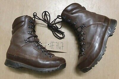 Karrimor Brown MTP Leather British Army Vibram Sole GoreTex SF Boots 9M UK #747
