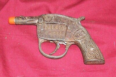 Antique Cast Iron Cap Gun Kilgore Federal No. 1 Vintage Old Toy Pistol Collector