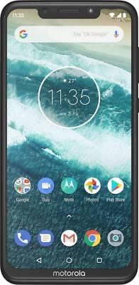 "Moto One Power (Black, 64GB) 4GB RAM 6.2"" (4G) 16MP+5MP Camera Googleplay Store"