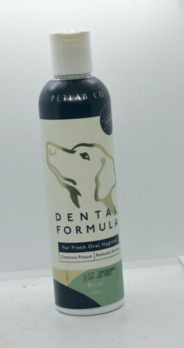 Petlab Co. Dental Formula Water Additive for Dogs  8 Fluid Ounces Exp. 6/2023