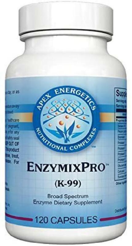 Apex Energetics EnzymixPro 120 Capsules (K-99)