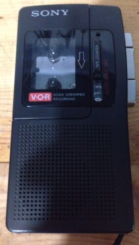 For parts Sony M-550v Microcassette Tape Voice No Sound Appears To Work