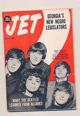 7/1/1965 JET MAGAZINE MARY WELLS singing style influences THE BEATLES
