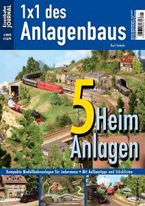 Eisenbahn Journal - 5 Heimanlagen - Anlagenbau & Planung 1-2012