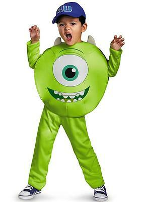Monsters Mike Costume (Disney Monsters University U MIKE Costume Size 3-4 T New 3 4 Toddler w)