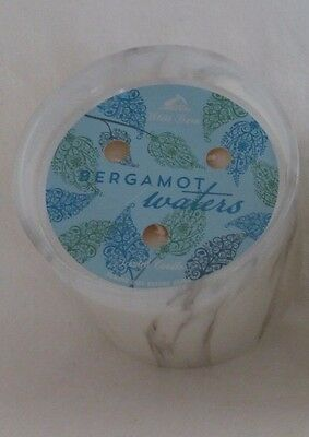 1 Bergamot Waters Scented Candle Bath   Body Works 13 Oz