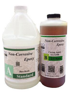 Standard Epoxy Resin 21 Kit 12 Gl - Base 1 Qt - Curing Agent 137703