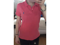 Woman's skinny fit Ralph Lauren polo (L)