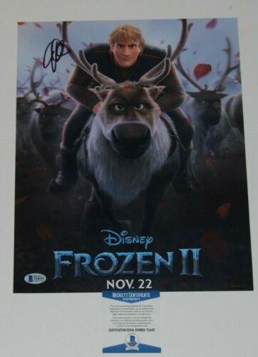 JONATHAN GROFF signed (FROZEN II) Movie 11X14 *Kristoff* photo BECKETT BAS