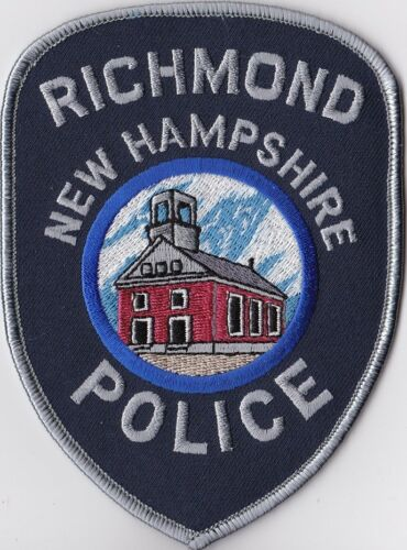 Richmond Police NH New Hampshire  Patch
